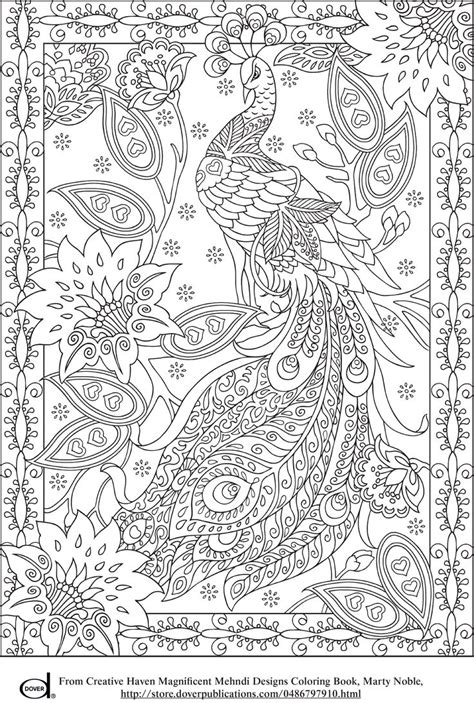 vire coloring pages adults free printable adult coloring pages peacock art for