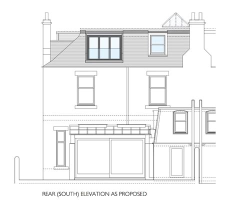 house extension planning permission scotland house plans