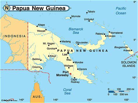 world map papua new guinea papua new guinea map world