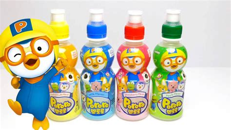 drinks kid pororo fruit drinks for apple tropical