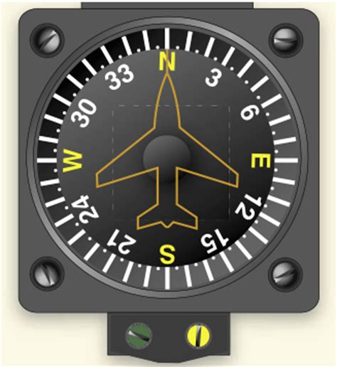 aircraft compass card template compass errors is more than 10 degrees