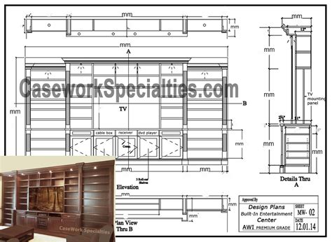 wall unit plans custom bookcases orlando wood shelving wooden wall