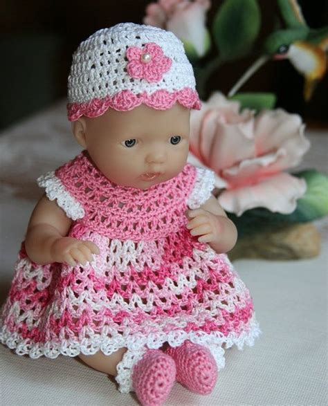 pattern doll clothes 10 inch 28 best crochet doll clothes berenguer images on