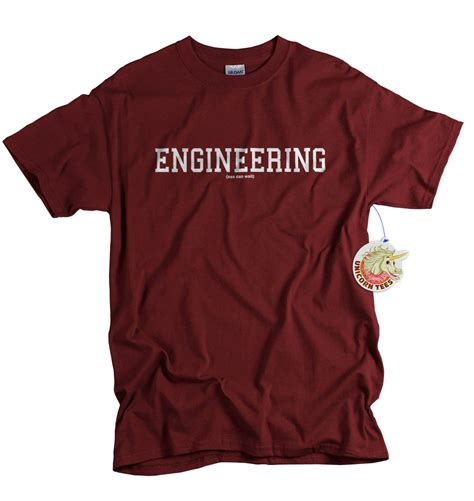 Engineering T Shirt engineer t shirt engineering tshirt student by unicorntees
