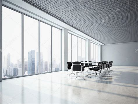 Office With Window Office Interior With Large Windows Stock Photo 169 Kantver