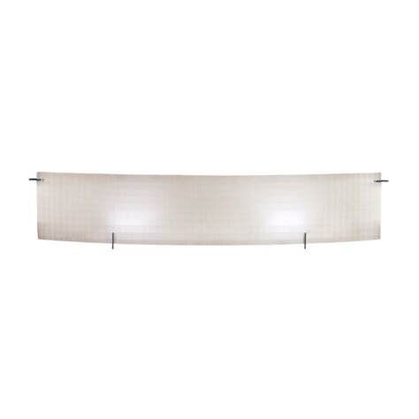 Ambient Light Fixtures Access Checkered Frosted Two Light Ambient Lighting 33 5 Quot Wide Bathroom Fixture Chrome 62053 Ch