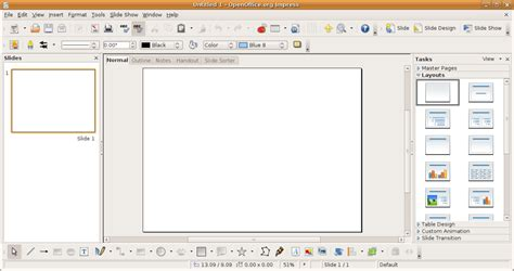 Open Office Powerpoint by Impress Logiciel Wikip 233 Dia