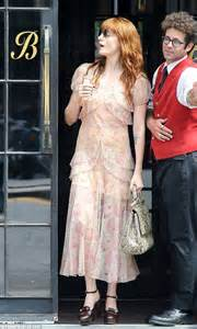 florence welch goes back to her style roots as she swaps