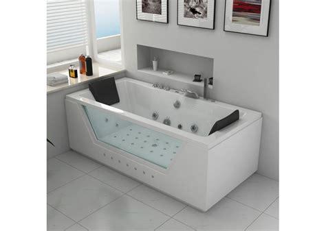 baignoire balneo rectangulaire baignoire baln 233 o rectangulaire 2 places baignoire
