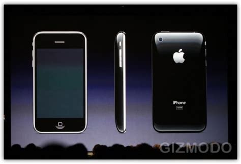 new iphone 3g s announced iphone 3g s release date