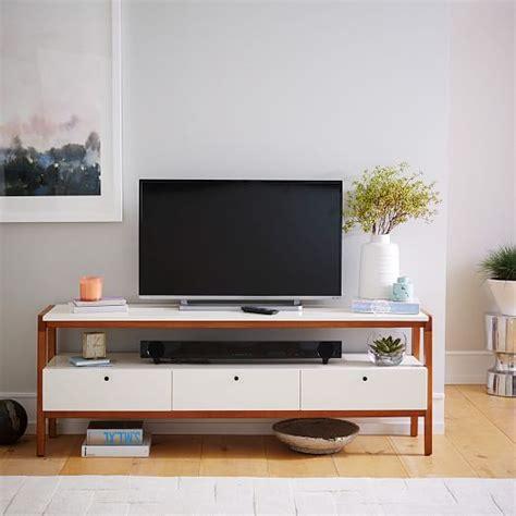 white modern media console modern media console large west elm