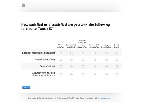 iphone questions apple sends out iphone survey seeks feedback on android touch id and more techcrunch