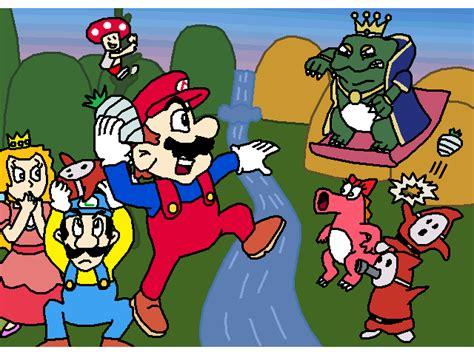 Kaos Mario Bross Mario Artworks 04 mario bros 2 artwork by mighty355 on deviantart