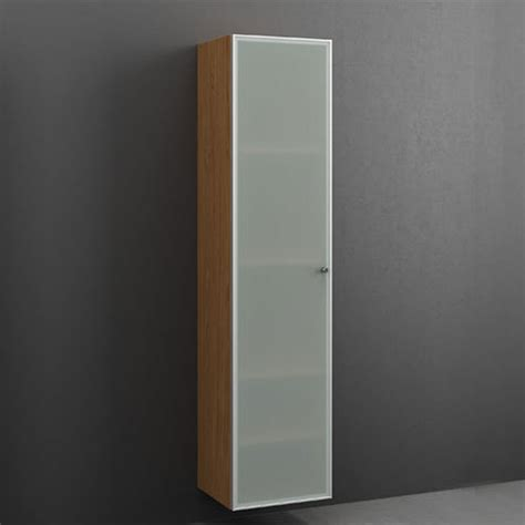 cabinet 170x40 frosted glass 4 shelves bathroom