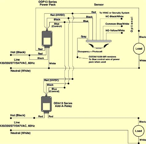 occupancy sensor wiring diagram ceiling occupancy sensor