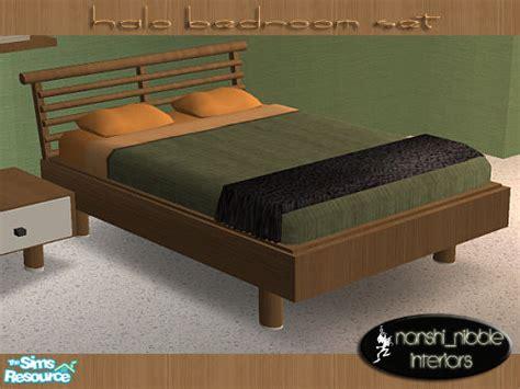 nanshi s halo bedroom set bed