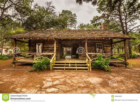 Cracker Cottage by Pinellas County Heritage Editorial Stock Photo