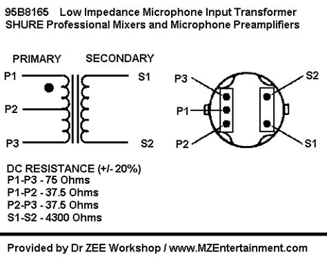transformer impedance input mze electroarts entertainment mzentertainment dr zee workshop on line store