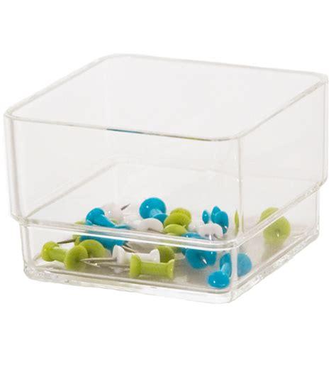 Acrylic Desk Drawer Organizer Acrylic Drawer Organizer 3 X 3 Inch In Drawer Bins
