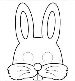 rabbit template 9 bunny template free jpg pdf document free