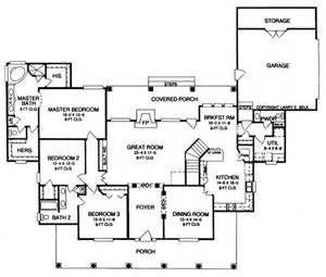 Pointe Homes Floor Plans by Oak Pointe 8481 3 Bedrooms And 2 Baths The House Designers