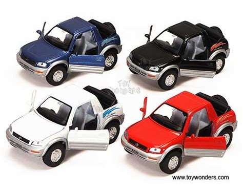 Diecast Welly Nex Toyota Camry 1 32 toyota rav4 cabriolet by kinsmart 1 32 scale diecast model