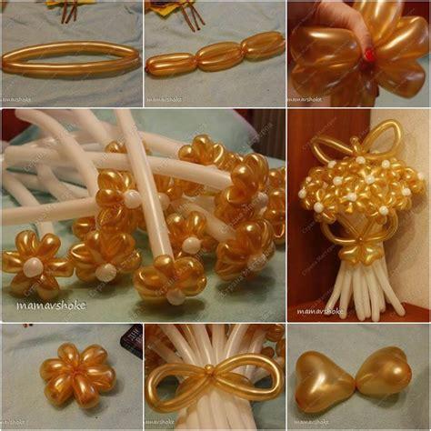 How To Make Handmade Flower Bouquet - how to make diy balloon flower bouquet