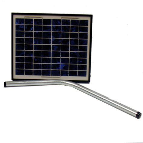 Mighty Mule 10 Watt Solar Panel Kit Solar Garage Door Opener