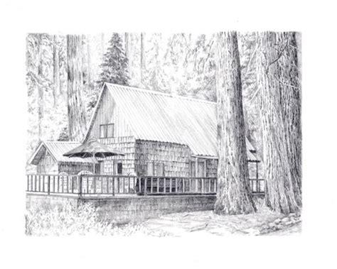cabin drawings drawings of cabins