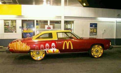 Mcdonald Cadillac by Mcdonalds Car Donks Cars And Mcdonald S