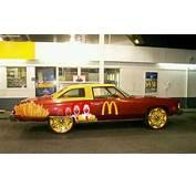 McDonalds Car  Donks Pinterest Cars And Mcdonalds