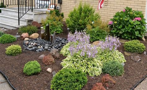 Shrub Garden Ideas Low Growing Shrubs For Front Of House Growing Shrubs Create Low Maintenance Garden