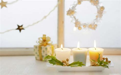 sfondi candele sfondo natalizio sfondo candele natale