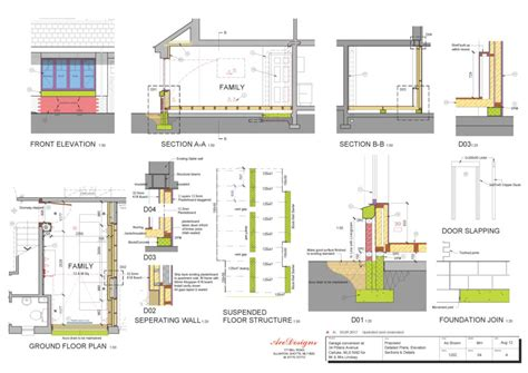 Layout Room residential garage conversion