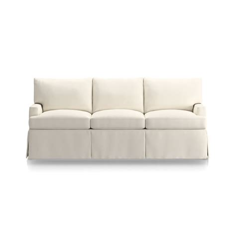 crate and barrel sofa slipcover replacement slipcover only for hathaway sofa in sofas reviews