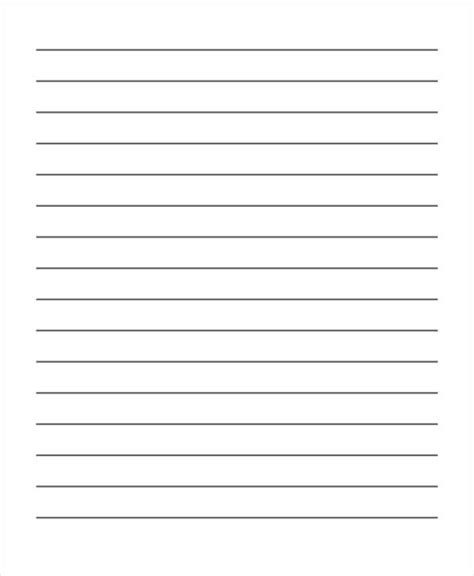 blank lined writing paper 26 sle lined paper templates free premium templates