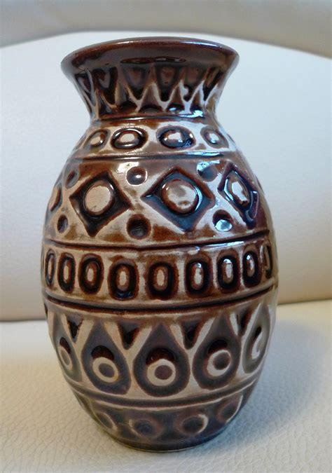 Home Decor Pottery Vintage Pottery Bay Keramik West Germany Home Decor Vase No 92 14 1970s German