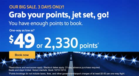 big southwest fare sale 49 or 99 to the caribbean points with a crew