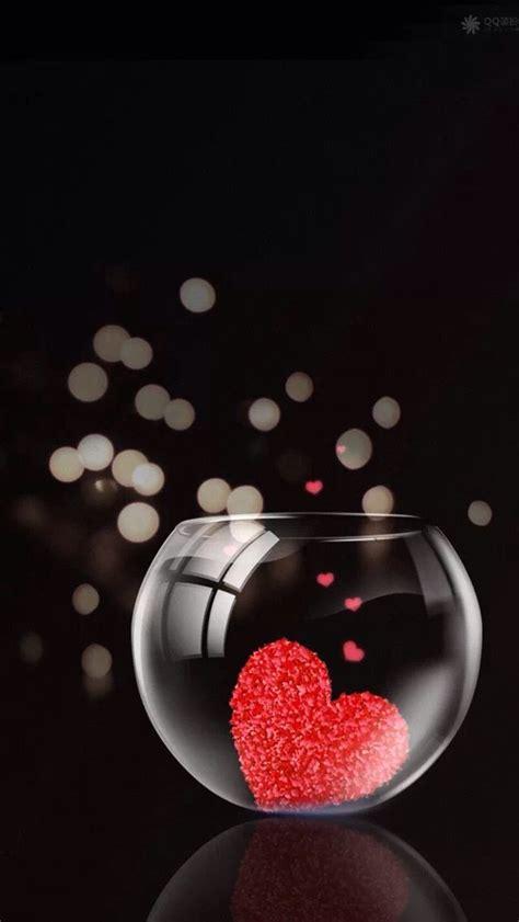 glass jar  hearts iphone  wallpaper httpwww