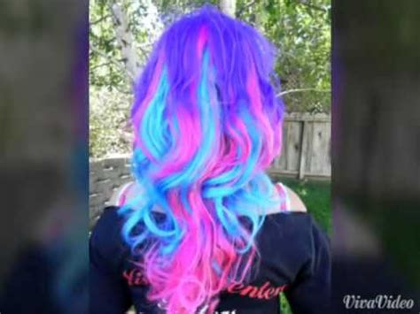 cool colors to dye hair cool hair color styles