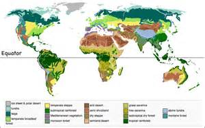 World Map Of Biomes by Estuaries Biome Map Map Of Biomes From Around The