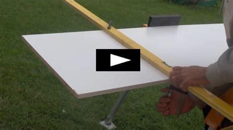 couper une planche parfaitement droite