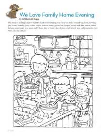 Kitchen Table Wisdom Lds Coloring Pages Search Results