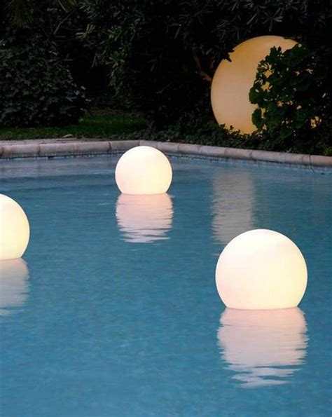 floating led pool lights 15 amazing outdoor pool with lighting ideas home design