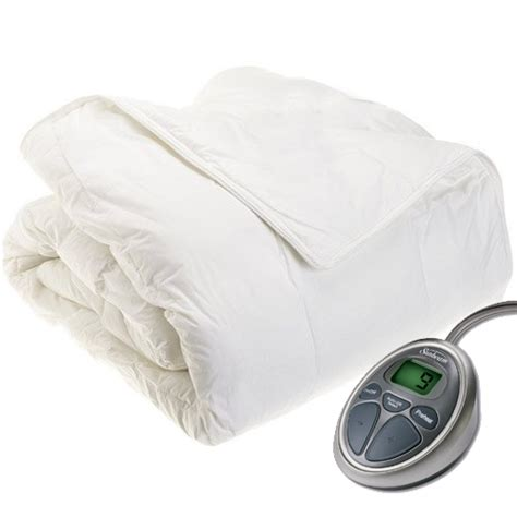 sunbeam premium electric heated comforter size ebay