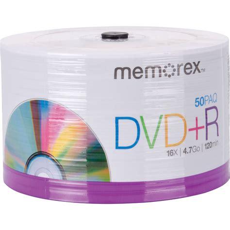 Memorex 4 7gb 16x Dvd R memorex dvd r 4 7gb single sided 16x recordable discs