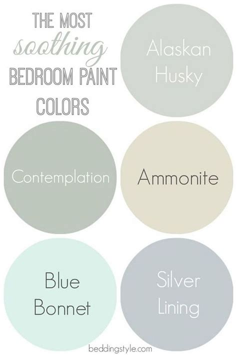 25 best ideas about soothing paint colors on interior paint palettes interior