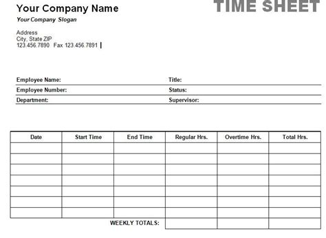 simple weekly timesheet template simple weekly timesheet printable weekly time sheet