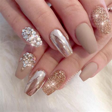nägel schleife 24 chrome nails design the newest manicure trend