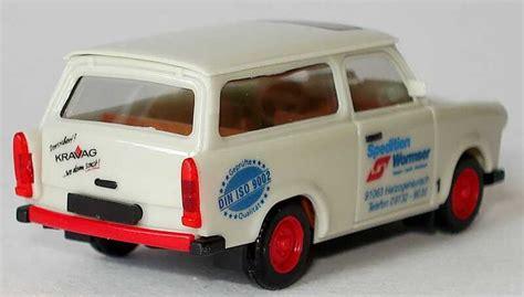 Auto Wormser by Trabant 601s Universal Spedition Wormser Herpa 047555 Bild 2